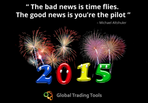 Happy New Year 2015 from Global Trading Tools